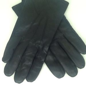Other - Thinsulate men's black leather gloves.